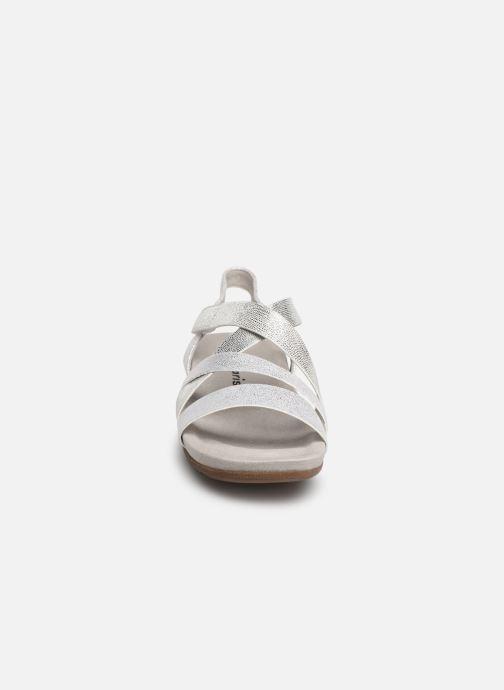 Sandales et nu-pieds Tamaris Margarete Argent vue portées chaussures