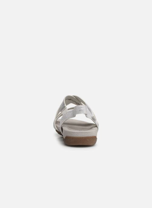 Sandales et nu-pieds Tamaris Margarete Argent vue droite