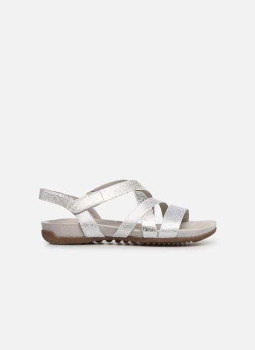 Sandales et nu-pieds Tamaris Margarete Argent vue derrière