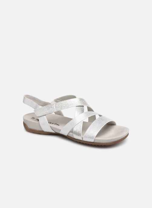 Sandales et nu-pieds Tamaris Margarete Argent vue détail/paire