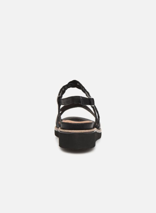 Sandales et nu-pieds Tamaris Maya Noir vue droite