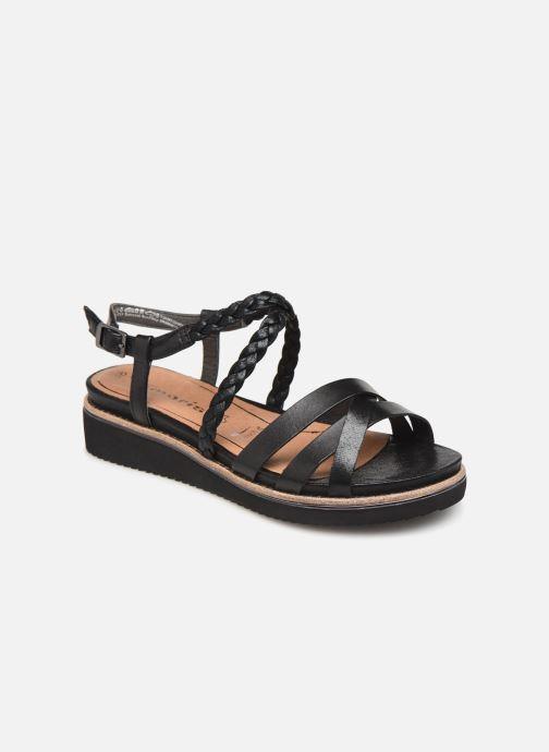 Maya Chez pieds Nu Sandales Tamaris noir Et TwdzvqC