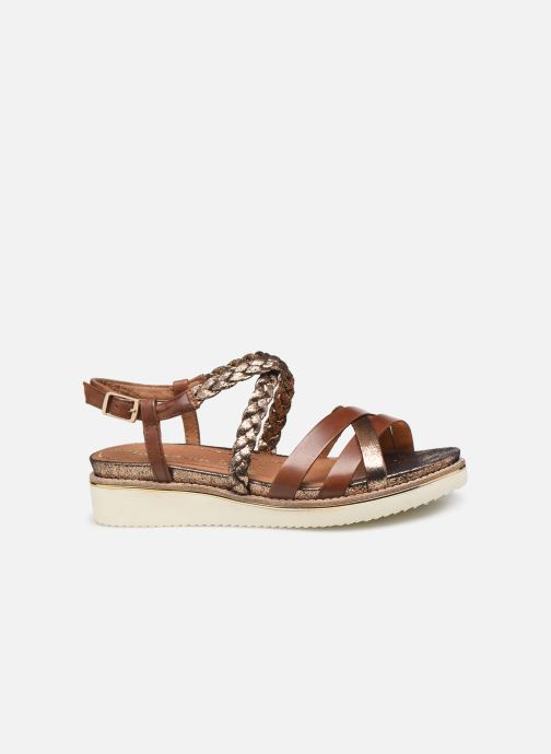 Sandales et nu-pieds Tamaris Maya Marron vue derrière