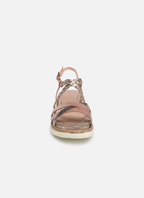 Sandalen Tamaris Maya rosa schuhe getragen