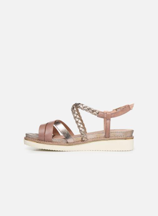 Sandales et nu-pieds Tamaris Maya Rose vue face