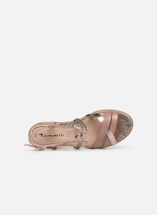 Sandales et nu-pieds Tamaris Maya Rose vue gauche
