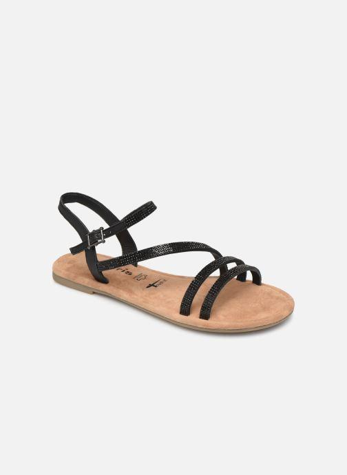 Tamaris pieds Monika Et Chez Sandales noir Nu xqwS0rqPH