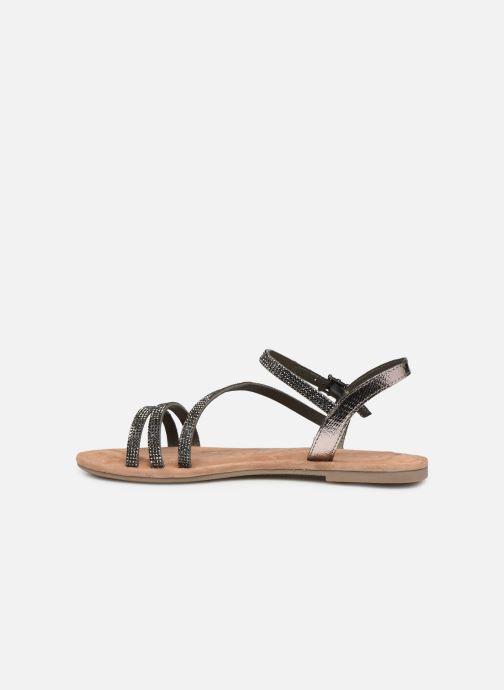Sandales et nu-pieds Tamaris Monika Gris vue face