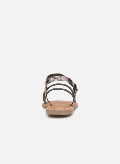 Sandales et nu-pieds Tamaris Monika Gris vue droite