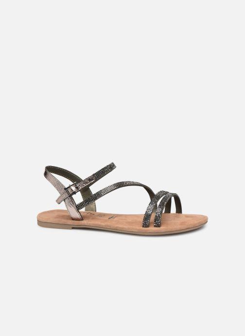Sandales et nu-pieds Tamaris Monika Gris vue derrière