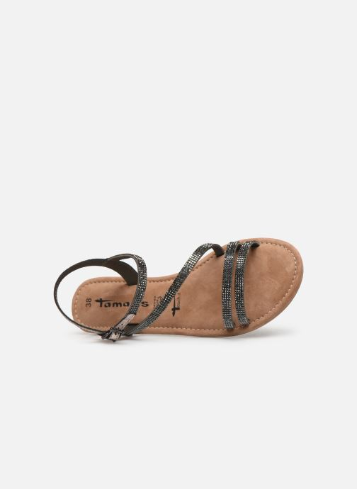 Sandales et nu-pieds Tamaris Monika Gris vue gauche