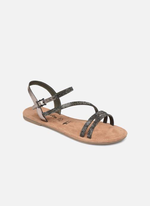 Sandales et nu-pieds Tamaris Monika Gris vue détail/paire