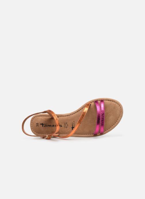 Sandales et nu-pieds Tamaris Monika Rose vue gauche
