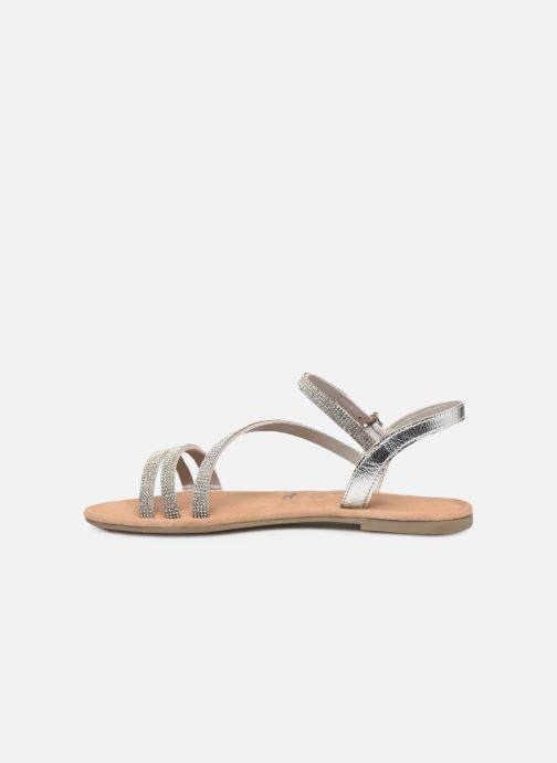Sandales et nu-pieds Tamaris Monika Argent vue face