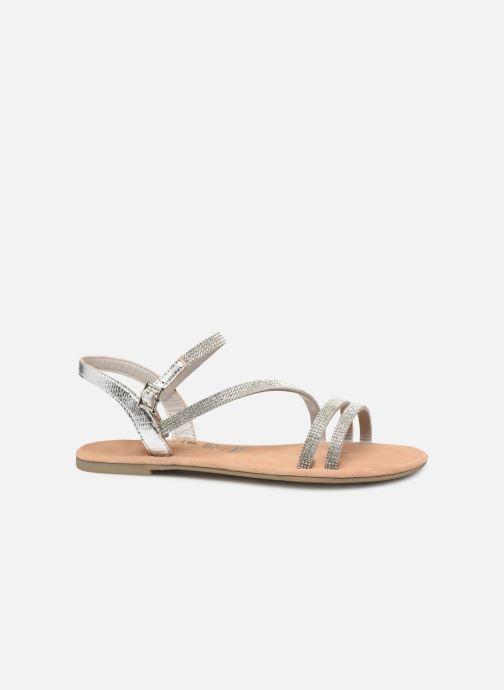 Sandales et nu-pieds Tamaris Monika Argent vue derrière