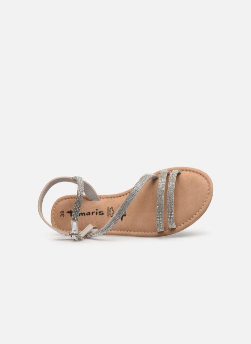 Sandales et nu-pieds Tamaris Monika Argent vue gauche