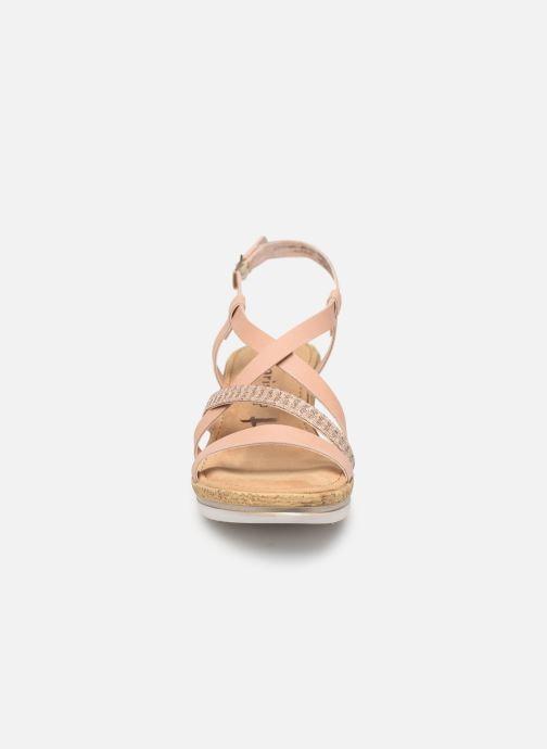 Sandales et nu-pieds Tamaris Nadia Rose vue portées chaussures