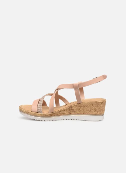 Sandales et nu-pieds Tamaris Nadia Rose vue face