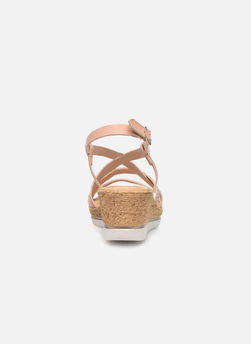 Sandales et nu-pieds Tamaris Nadia Rose vue droite