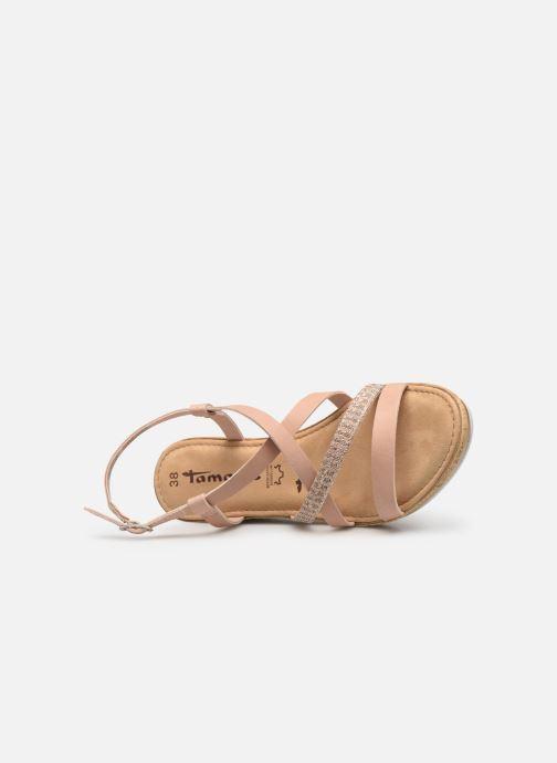 Sandales et nu-pieds Tamaris Nadia Rose vue gauche