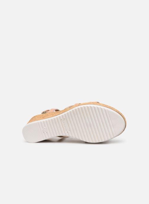 Sandales et nu-pieds Tamaris Nadia Rose vue haut