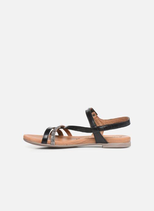 Sandales et nu-pieds Tamaris Naomi Noir vue face