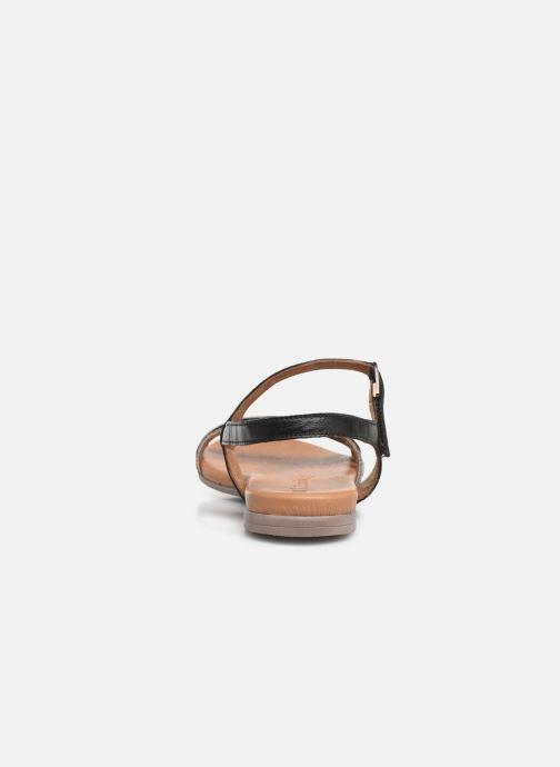 Sandales et nu-pieds Tamaris Naomi Noir vue droite