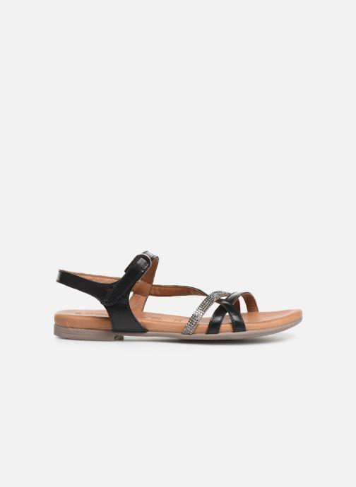 Sandales et nu-pieds Tamaris Naomi Noir vue derrière