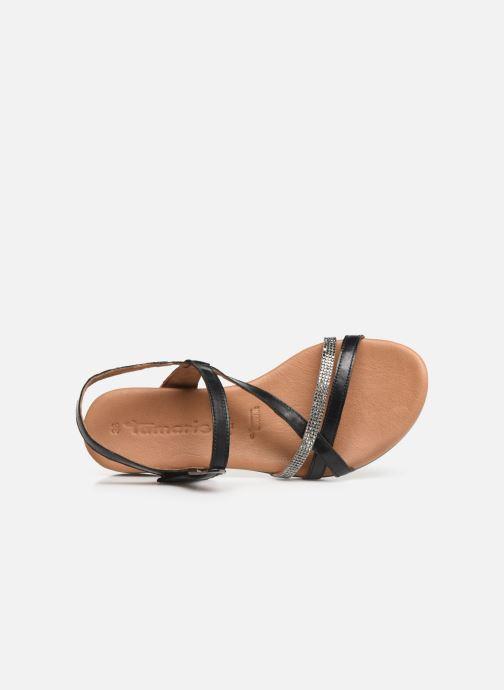Sandales et nu-pieds Tamaris Naomi Noir vue gauche