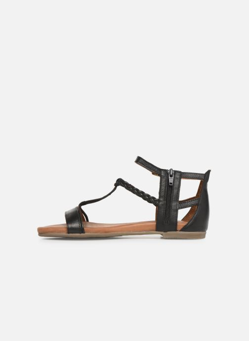 Sandales et nu-pieds Tamaris Roxane Noir vue face