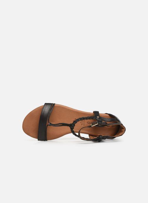 Sandales et nu-pieds Tamaris Roxane Noir vue gauche