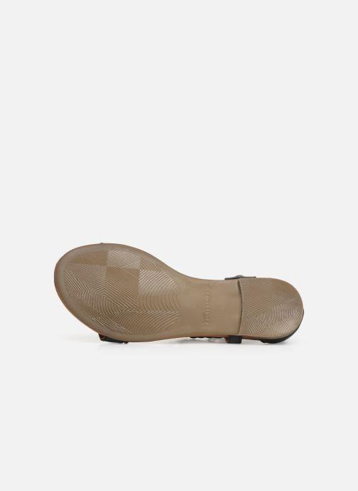 Sandales et nu-pieds Tamaris Roxane Noir vue haut