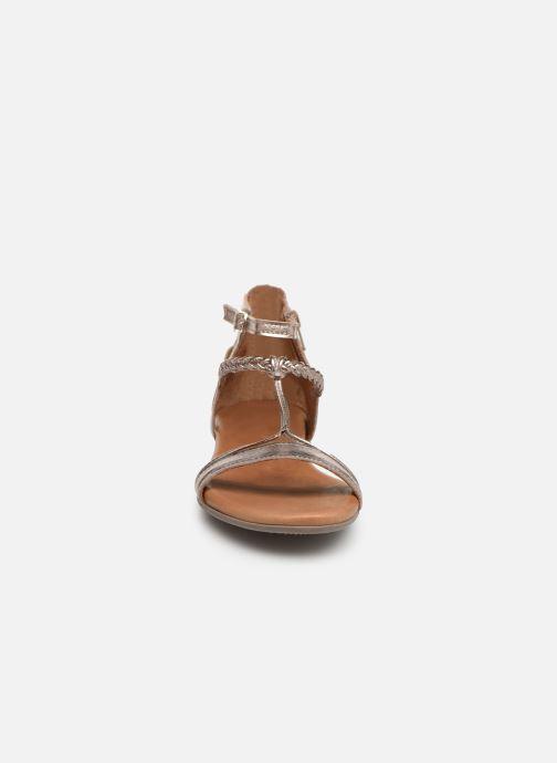 Sandales et nu-pieds Tamaris Roxane Or et bronze vue portées chaussures