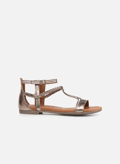 Sandales et nu-pieds Tamaris Roxane Or et bronze vue derrière