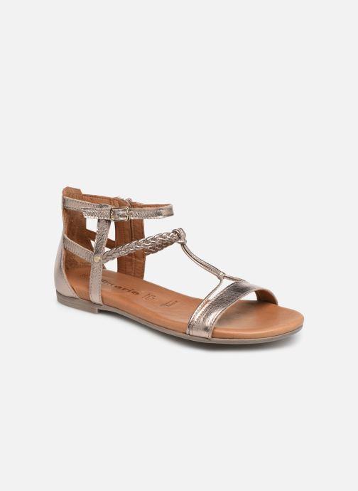 Sandales et nu-pieds Tamaris Roxane Or et bronze vue détail/paire