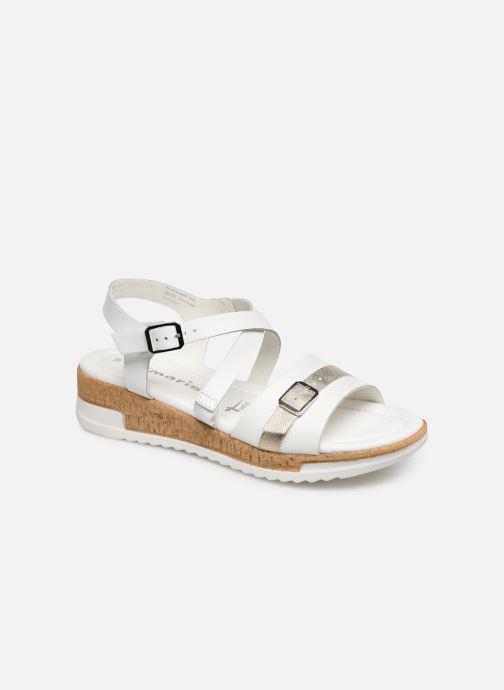 Sandales et nu-pieds Tamaris Regina Blanc vue détail/paire