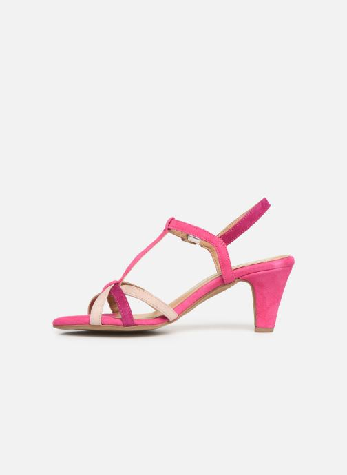 Sandales et nu-pieds Tamaris Ramona Rose vue face