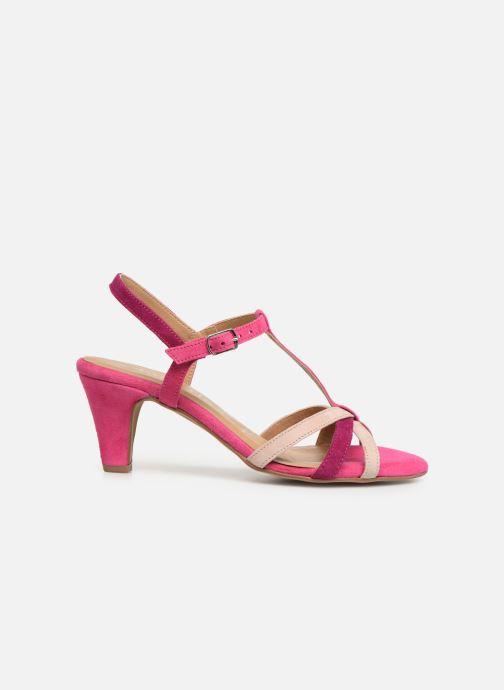 Sandales et nu-pieds Tamaris Ramona Rose vue derrière