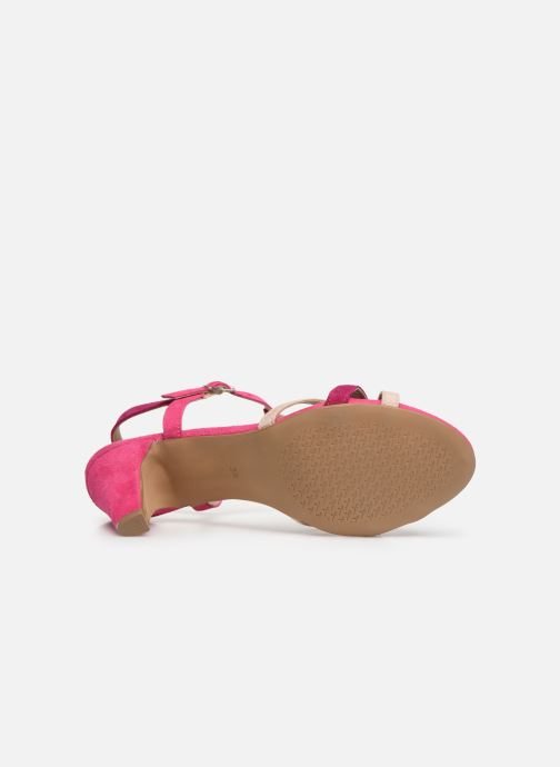 Sandales et nu-pieds Tamaris Ramona Rose vue haut