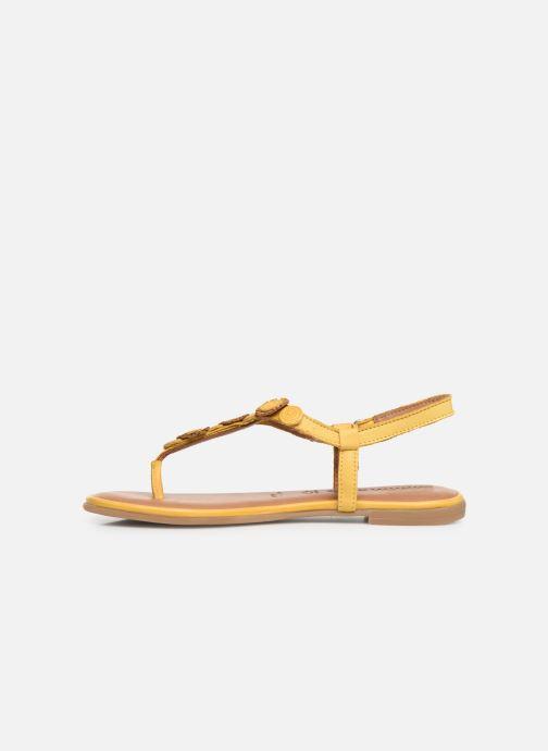 Sandales et nu-pieds Tamaris Simone Jaune vue face