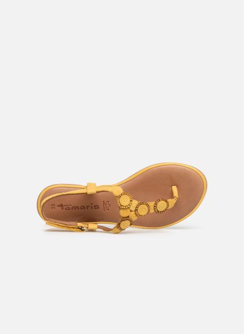 Sandales et nu-pieds Tamaris Simone Jaune vue gauche