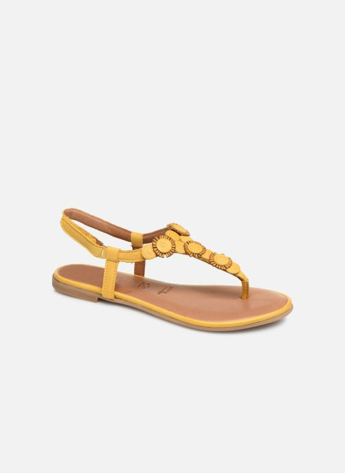 Sandales et nu-pieds Tamaris Simone Jaune vue détail/paire