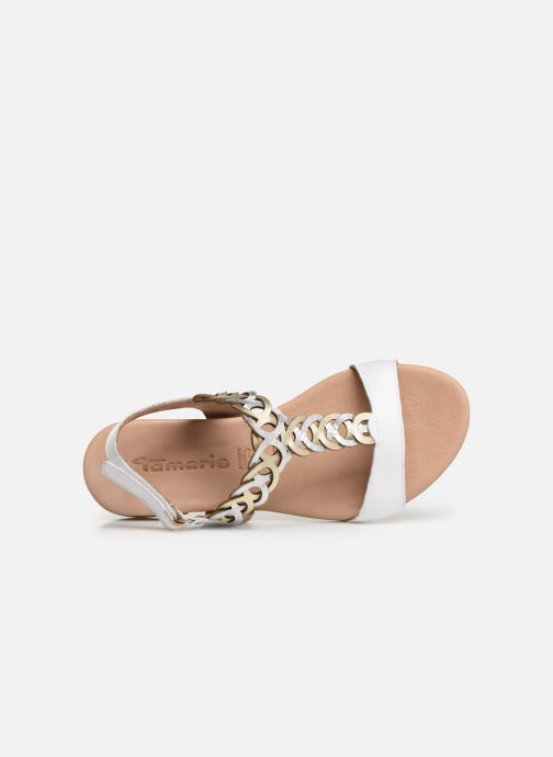 Sandalen Tamaris Stephie Wit links