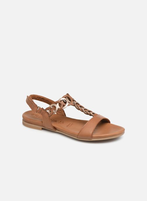 Sandals Tamaris Stephie Brown detailed view/ Pair view