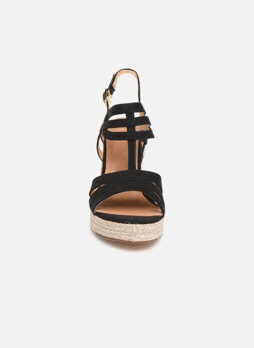 Sandales et nu-pieds Tamaris Thais Noir vue portées chaussures