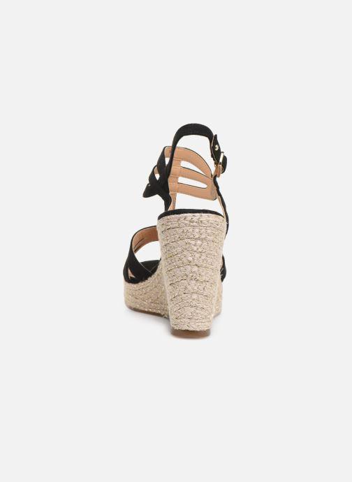 Sandales et nu-pieds Tamaris Thais Noir vue droite