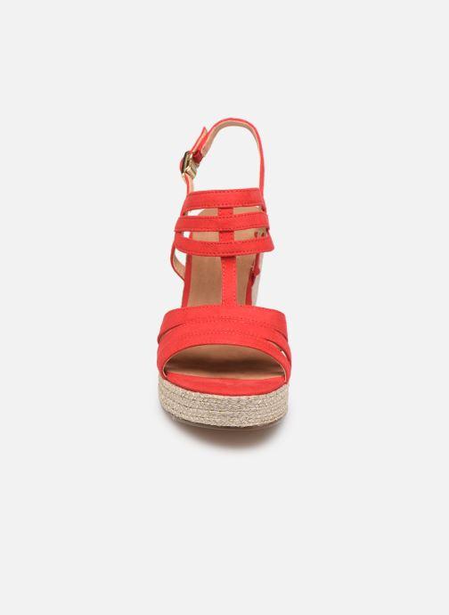 Sandales et nu-pieds Tamaris Thais Rouge vue portées chaussures