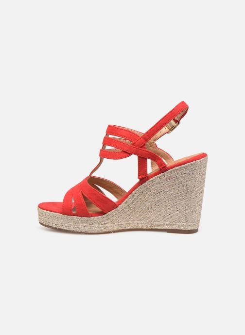 Sandales et nu-pieds Tamaris Thais Rouge vue face