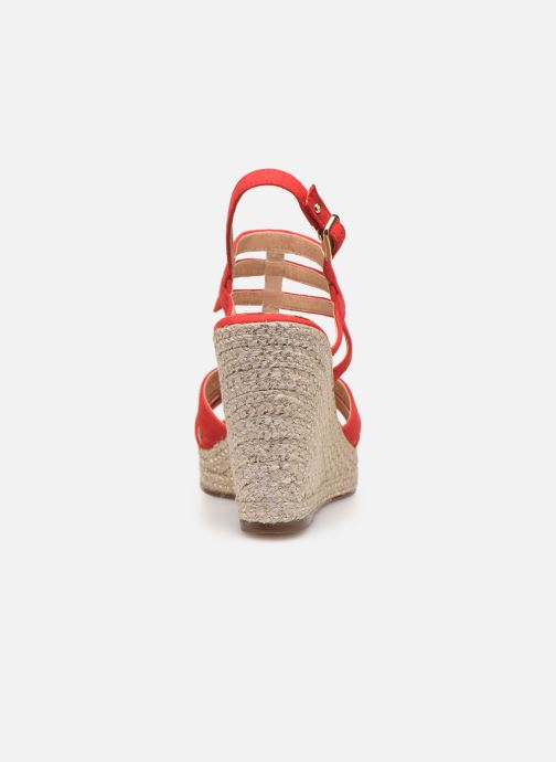 Sandales et nu-pieds Tamaris Thais Rouge vue droite