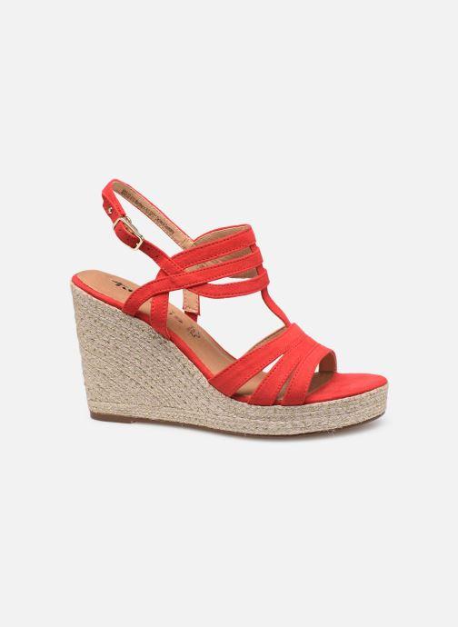 Sandales et nu-pieds Tamaris Thais Rouge vue derrière